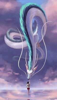 So I recently saw an awesome Spirited Away phone wallpaper here. Wanted to share mine, too - Wallpaper