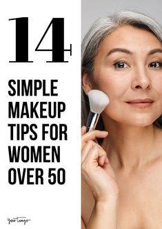 Makeup Tips Over 50, Simple Makeup Tips, Beauty Makeup Tips, Eyebrow Makeup Tips, Applying Eye Makeup, Eyeliner Makeup, Women's Beauty, Makeup Guide, Easy Makeup