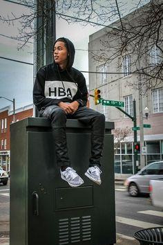 Hood by air hoodie, zara pants, fear of god shirt, nike flyknit trainer Nike Flyknit Trainer, Hood By Air, Dope Outfits, Streetwear Brands, Cute Guys, Style Me, Street Wear, Mens Fashion, Street Fashion