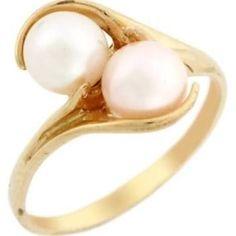 pearl ring unique