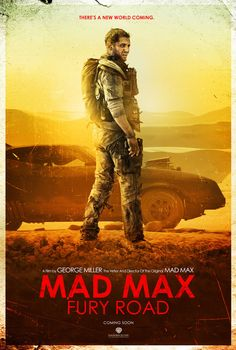 Mad Max: Fury Road - movie poster - Jeff Aguila