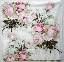 Papier - Love rose V6 -   40x40 cm!!! - 7190650_