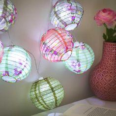 diy leuchten kugel laterne muffin backformen bunt blume lampe pinterest muffin backform. Black Bedroom Furniture Sets. Home Design Ideas