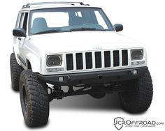 JcrOffroad, Inc. Crusader Front Bumper - XJ Cherokee