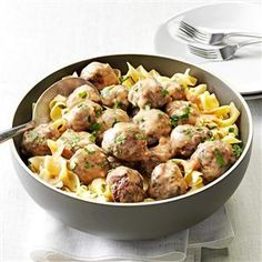 Mom's Swedish Meatballs Recipe -Mom fixed these meatballs for all sorts of family dinners, potluck suppers and PTA meetings. The scent of browning meat is intoxicating. Add to that the sweet smell of onions caramelizing, and everyone's mouth starts watering. —Marybeth Mank, Mesquite, Texas