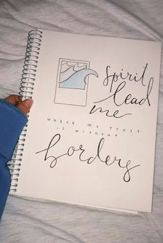 ★ ☆ hhannahlarsen ☆ ★ - Handlettering - - New Ideas Bujo Inspiration, Bullet Journal Inspiration, Journal Ideas, Bible Study Journal, Journal Quotes, Bible Verses Quotes, Jesus Quotes, Calligraphy Quotes Scriptures, Scripture Lettering