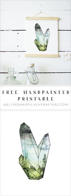 Modern art design free printable 64 New ideas Free Printable Art, Free Printables, Cactus Wall Art, Digital Print, Wall Art Decor, Modern Art, Watercolor, Snow Globe, Nail Art