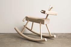 Hardwood & Rope Toys from Monroe Workshop - Design Milk Steel Furniture, Kids Furniture, Furniture Design, Furniture Removal, Furniture Stores, Wooden Furniture, Animal Print Shop, Modern Toys, Workshop Design