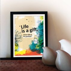 A3 Motivational poster with inspiring quote. by inspiring4U, $23.00