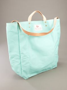 Simple tote in a gorgeous color.