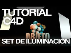 C4D Quicktips - Set de iluminacion de Objetos - YouTube