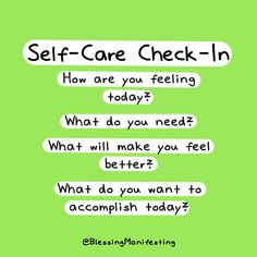 #selfcare Make You Feel, How Are You Feeling, Love You, Mental Health Journal, Start The Day, Live For Yourself, Self Care, Life Is Good, Blessed