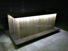Pallet Outdoor Kitchen bar Kitchen Pallet Projects Pallet Bars