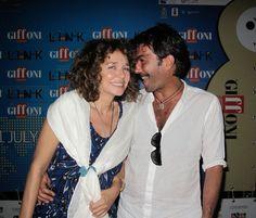 Valeria Golino - Stola gioiello in lino Gianmarco Russo -