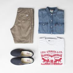 #onlinestore #online #store #ss15 #springsummer15 #men #mencollection #levis #logo #graphic #liveinlevis #shoes #shirt #jeans #denim #trouser #white #shirt #set #zestaw #buty #shorts
