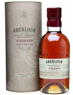 Aberlour A'bunadh batch 46 Intense fruitsmaak, met zoetheid die doet denken aan siroop, tonen van chocolade en zwarte kersen