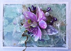 Card envelope by Michelle Frisby Card Envelopes, Glass Vase, Cards, Home Decor, Maps, Interior Design, Home Interior Design, Home Decoration, Decoration Home
