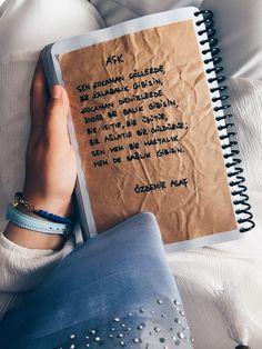 My Dıy Notebook - Benim Defterim - Diy Web Site The Notebook Quotes, Diy Notebook, Silent Words, Beauty Salon Interior, Salon Design, Poetry Quotes, Quotes Quotes, Beauty Hacks Video, Beauty Room