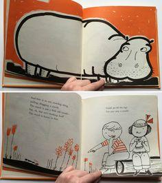 Heavy is a Hippopotamus by Miriam Schlein by ElwoodAndEloise
