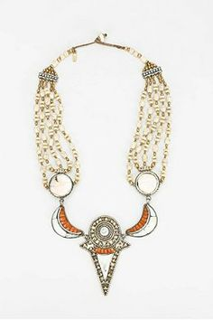Vanessa Mooney Gypsy Heart Statement Necklace