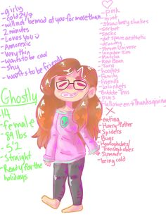 I made a meet the artist since everyone was doing it//hhhh idk what's more ugly my doodle of myself or me irl