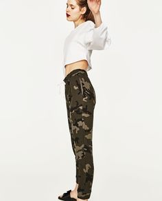 CAMOUFLAGE JOGGING TROUSERS