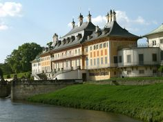 Pillnitz Castle Palace in Dresden, Germany; It is located on the bank of the River Elbe in the former village of Pillnitz. Shawn Frank