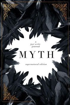 MYTH - a just write journal Cover Design by Mae