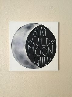 Moon Child by AustinJaneArt on Etsy