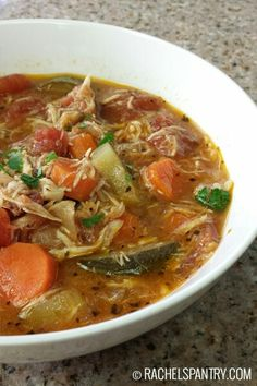 Italian vegetable chicken soup. This absolutely delicious.... I substituted wide egg noodles for the zucchini....par boiled noodles to al dente (about 6-7 min) in separate pot then added to soup about 10 min. From being done... This prevents the noodles from getting mushy!