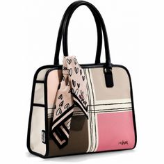 Vera Colorblock Satchel available at #BrightonCollectibles