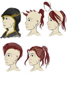 Jack Hair styles + face