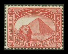 Mısır 1882 yılında İngilizler tarafından işgal edilmiştir. Ancak Mısır çok daha önceleri kendi pulunu çıkarıyordu. (Kavalalı Mehmed Ali Paşa 1805 yılından itibaren Mısır'ı yönetiyordu ve sonunda Osmanlı'ya karşı isyan etmiştir. Bu nedenle Mısır'ın elimizden çıkış tarihi olarak 1805 kabuledilmelidir.)