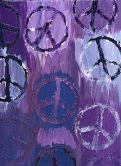 Peace Sign Stencil Job. by xpurplexhazexchicax.deviantart.com on @deviantART