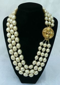 baroque pearls.... Oh, I love these!!