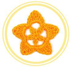 > Descripción  Bonita y fácil estrella de crochet. Perfecta para decorar cualquier tejido o manualidad. Por su tamaño es fácilmente adapta...