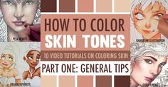Learn how to color skin tones with colored pencils or markers with these 10 video tutorials. Learn new blending techniques and handy tips for coloring skin.