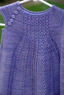 Ravelry: Marian Dress pattern by Taiga Hilliard Designs Knit Baby Dress, A Line Skirts, Baby Knitting, Ravelry, Children, Lace, Pattern, Babies, Dresses