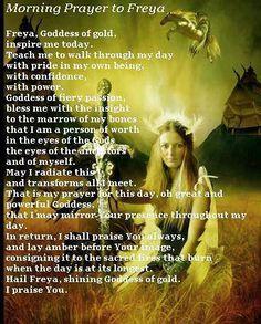 Prayer to Freya
