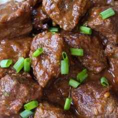 Closeup of Carne Guisada showing its delicious chunks of beef in a rich brown gravy Uncooked Tortillas, Fresh Tortillas, Flour Tortillas, Slow Cooker Bacon, Slow Cooker Recipes, Stew Meat Recipes, Mexican Food Recipes, Shrimp And Grits Casserole Recipe, Casserole Recipes