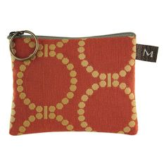 Maruca Coin Purse - Linked Orange