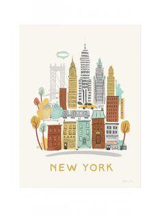 New York Neighborhood Print