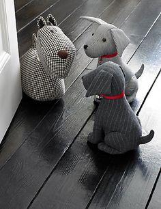 Benjamin Sitting Dog Doorstop | M&S SOOOO Cute!!
