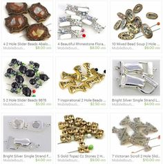 Mobile-boutique.com Etsy Shop for unique slider beads and fold over claps!