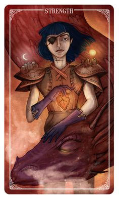Strength - This card represents inner strength and determination.  You may be feeling as though life is throwing constant obstacles in your path.  You have the ability, and the power to continue, just look inside and find it.  - Eden   You can PRE-ORDER the deck here!