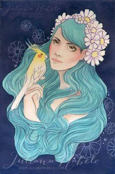 juliana rabelo | illustration: aquarela