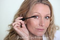 Try this DIY Homemade mascara..Also shows where to buy tubes for mascara, etc.