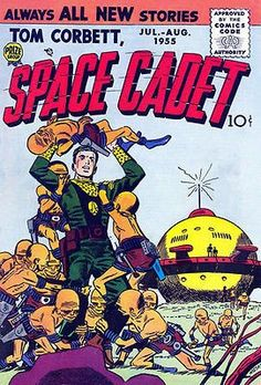 Tom Corbett, Space Cadet #2 - Comic Book Cover Poster