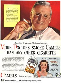 More doctors smoke Camels...