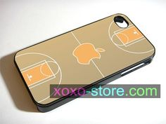 Basketball Court Apple iPhone 6 Plus / 6 / 5S / 5C / 5 / 4S / 4 - Samsung Galaxy S5 / S4 / S3 / Note 3 Cover Case